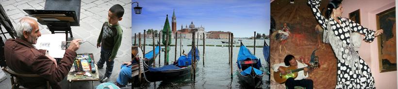 Custom Family Travel to Italy, Spain & France